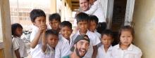 Drew & Lou & kids